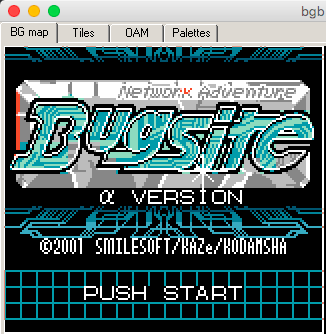 Bugsite logo with only the background layer visible